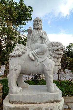 Eighteen Arhats marble Sculpture Linh Ung Pagoda, Da Nang, Vietnam