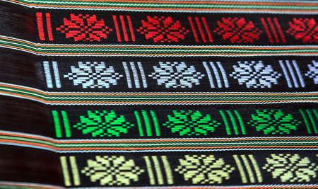 Fabrics handloom weaves is trendy home decor