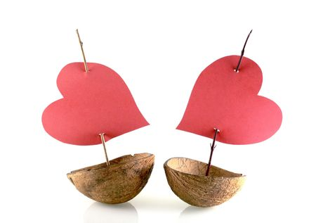 image from creative series: love boats Standard-Bild
