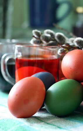 image from  series: painted easter eggs Standard-Bild
