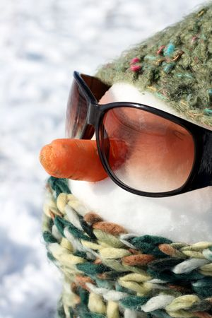 image from creative series: snowman