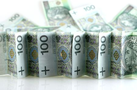 image from business series: polish money Фото со стока