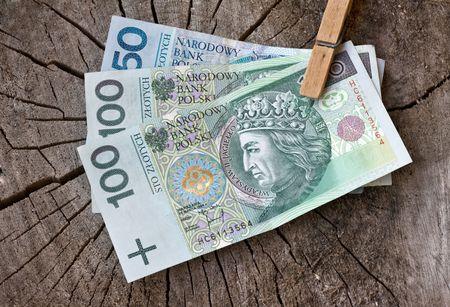 image from business series: polish money Standard-Bild