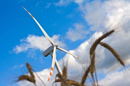 object series: wind turbine Stock Photo - 5267147