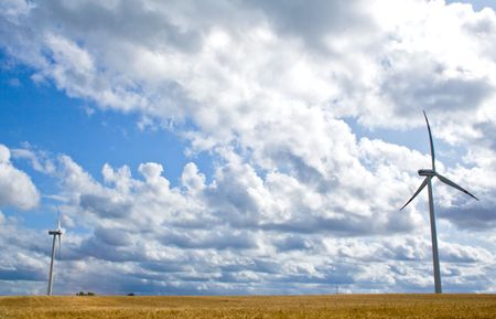 object series: wind turbines Stock Photo - 5267143
