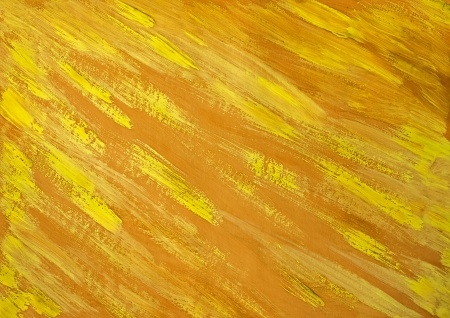 Painting background with traces of paint brush photo