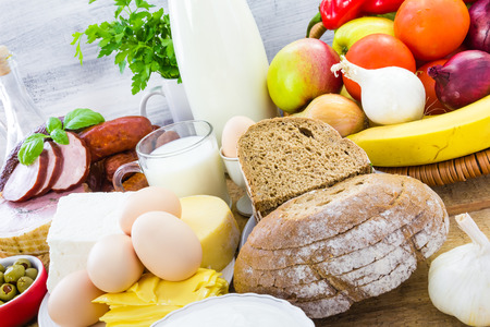 dairy products: Miscellaneous food products including dairy products, bread and meat