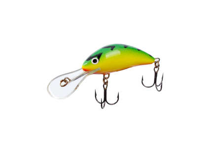 Fishing lure for catching predator Stock Photo