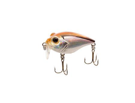 Fishing lure isolated on white background. Stock Photo
