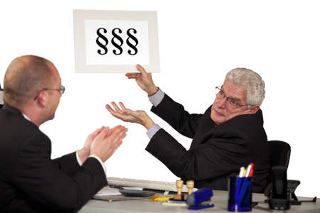 A senior manager refusing the request of his employee by referring to legislation