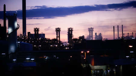rafinery: Chemical rafinery industrial background