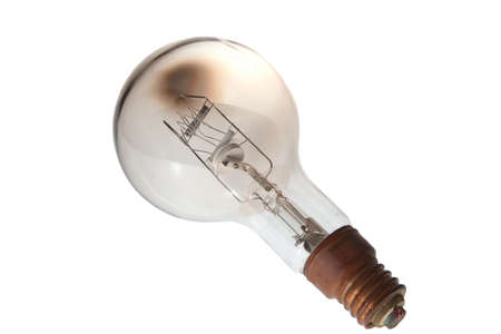 vintage lightbulb 1000 watt for industrial use Stock Photo
