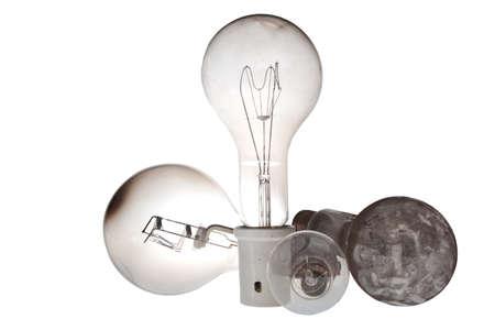 verry old industrial lightbulbs from 1000 watt
