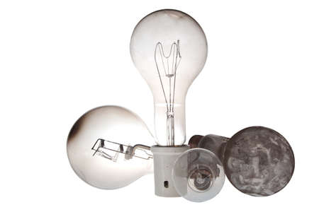 verry old industrial lightbulbs from 1000 watt