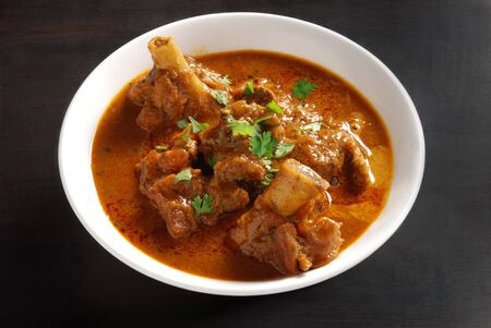 mutton: Indian spicy mutton curry