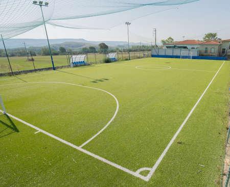 7 a side football field