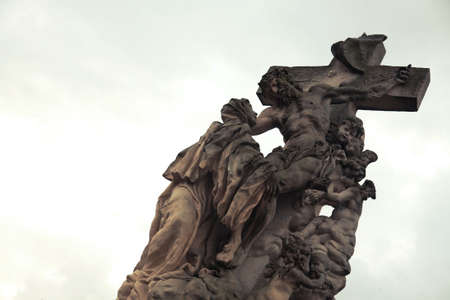 illustration of statue of Jesus