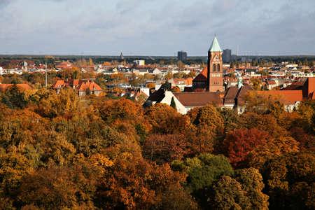 illustration of urban landscape   Zdjęcie Seryjne