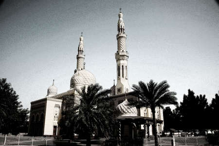 view of Mosque in Dubai