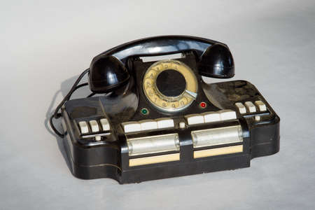 The Director's phone-to-hub CD-6 connection of up to six city or local phone lines Banco de Imagens - 74182249