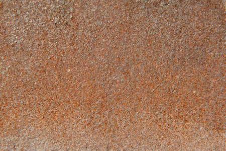 Texture rusty metal sheet brick red Banco de Imagens - 78797592