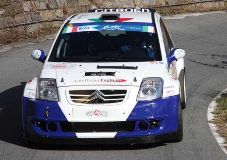 sanremo: Car Racing Citroen C2 Rally Sanremo Editorial