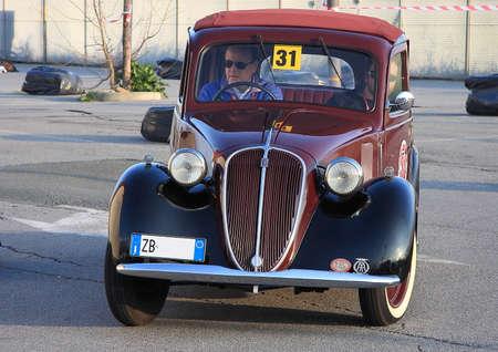 fiat: historic cars Fiat Balilla Editorial