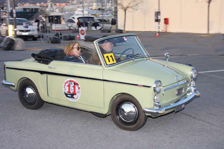 regularity: historic cars Fiat Bianchina