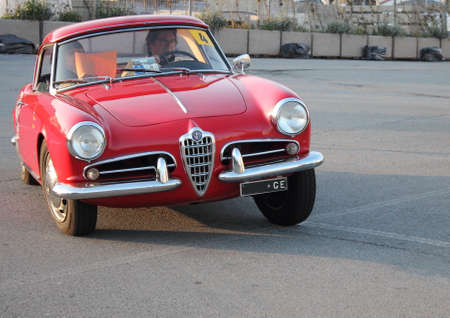 regularity: historic cars Alfa Romeo Julietta