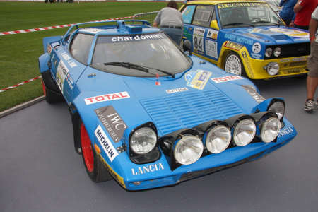 legend: Lancia Stratos rally legend