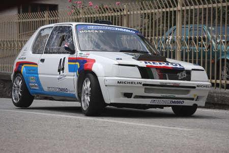 gti: racing car Peugeot 205 gti
