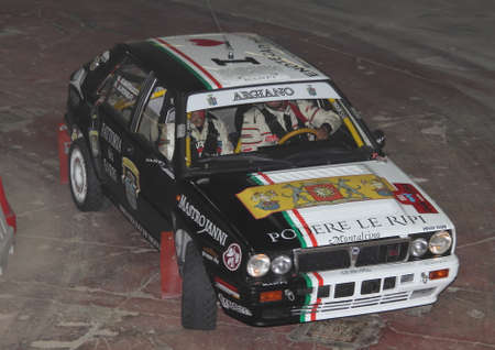 delta: Lancia Delta Integrale rally Editorial