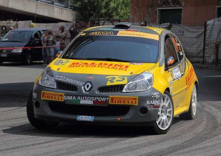 rally: Renault Clio rally