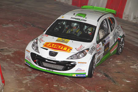 rally: Peugeot 207 rally Editorial