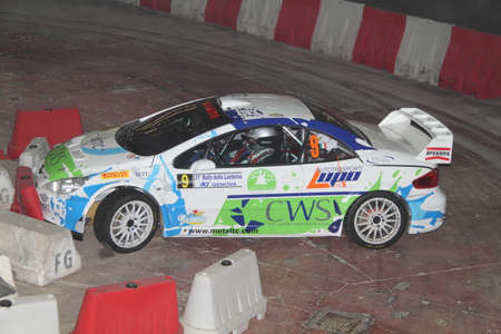 rally: Peugeot 307 rally in trouble  Editorial