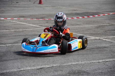 pilotage: kart race