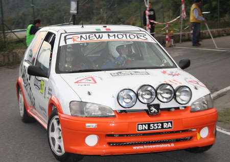 sanremo: Peugeot 106 rally of Sanremo 2013