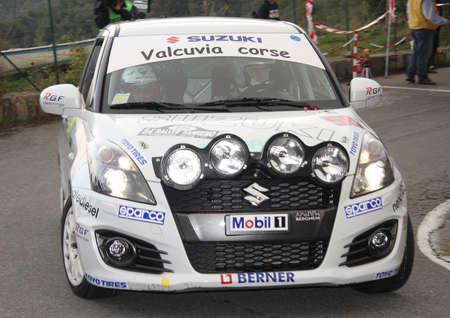 sanremo: Suzuki Swift Rally Sanremo 2013 Editorial