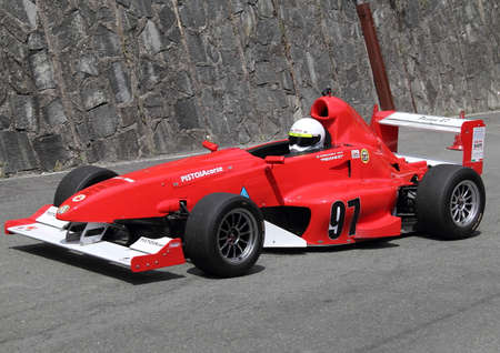 uphill: single-seater formula type for uphill races