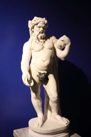 etruscan: marble statues of Etruscan origin Editorial