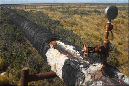 dai: Pipeline Patagonia Santa Cruz Argentina