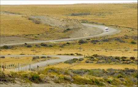 dai: Santa Cruz Patagonia Argentina Stock Photo
