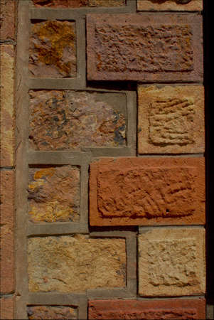 carved stone: Carved stone walls, Argentina