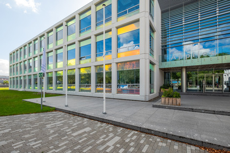 Colorful coated windows for the Applied Sciences of the Delft University of Technology, Netherlands Sajtókép