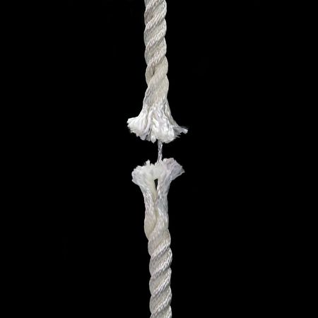 confianza concepto: Broken cuerda concepto de imagen