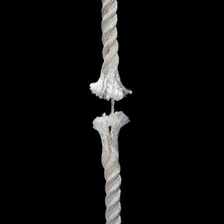 Broken rope concept image Stock Photo - 3001145