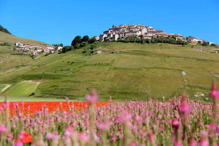Italy hamlet Stock Photo