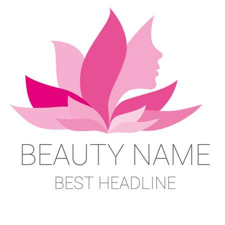 Illustration beauty beautician and massage