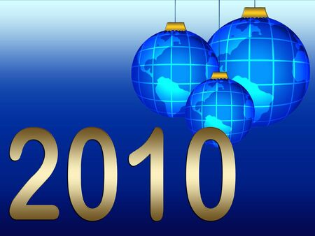 ciphers: New year`s background