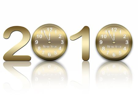 ciphers: New years background Stock Photo